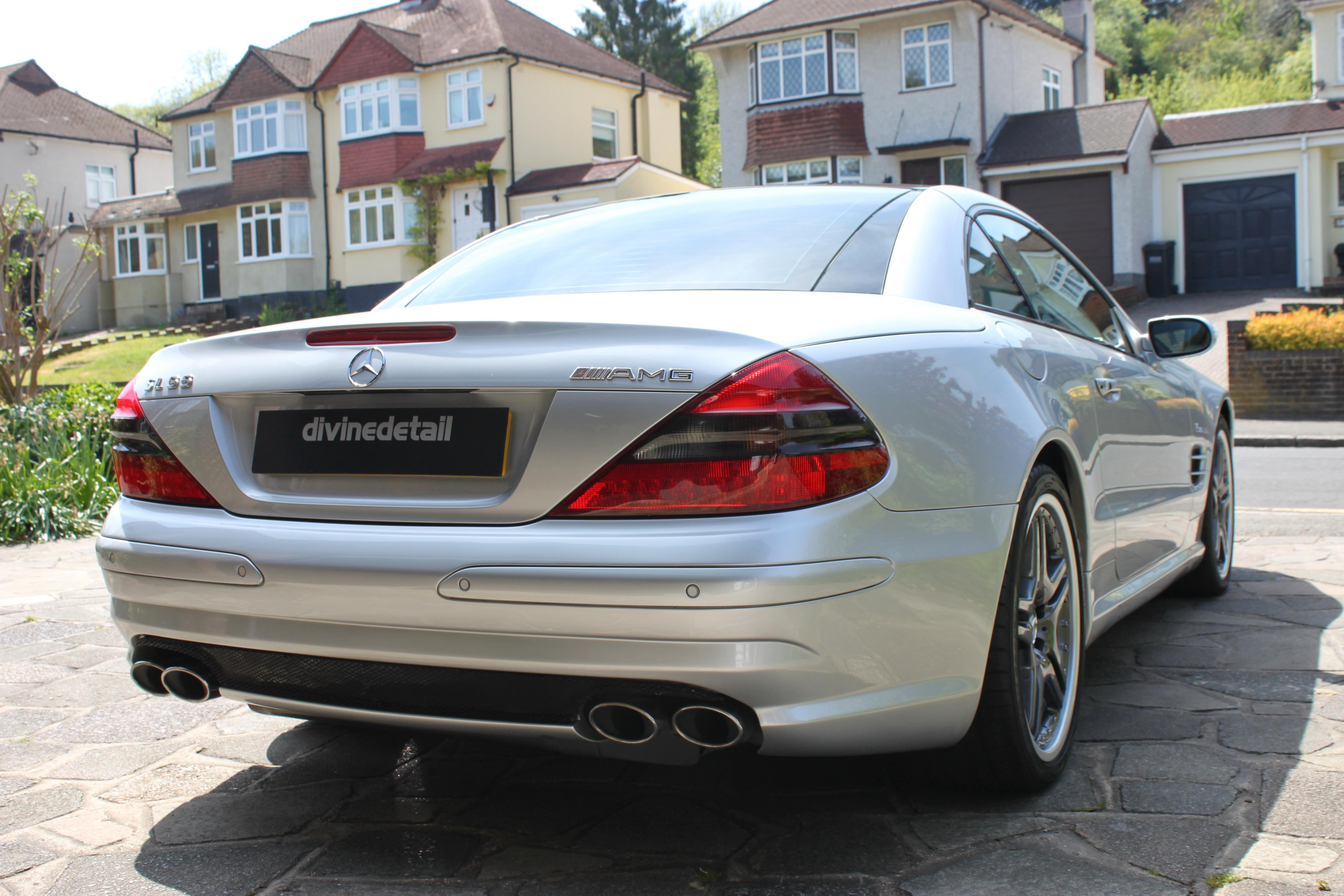 Mercedes SL55 AMG
