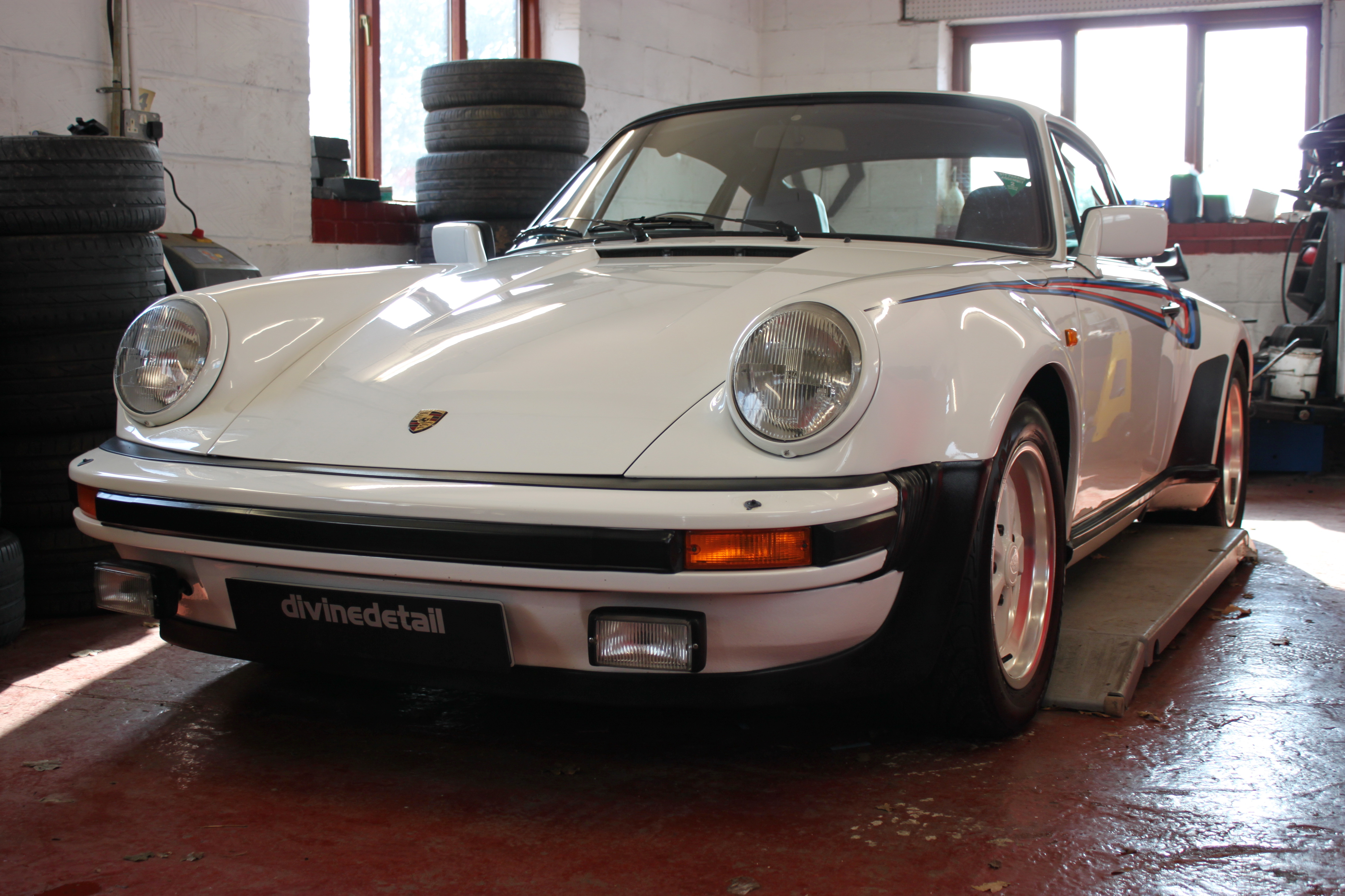 Porsche 930 Turbo detailed