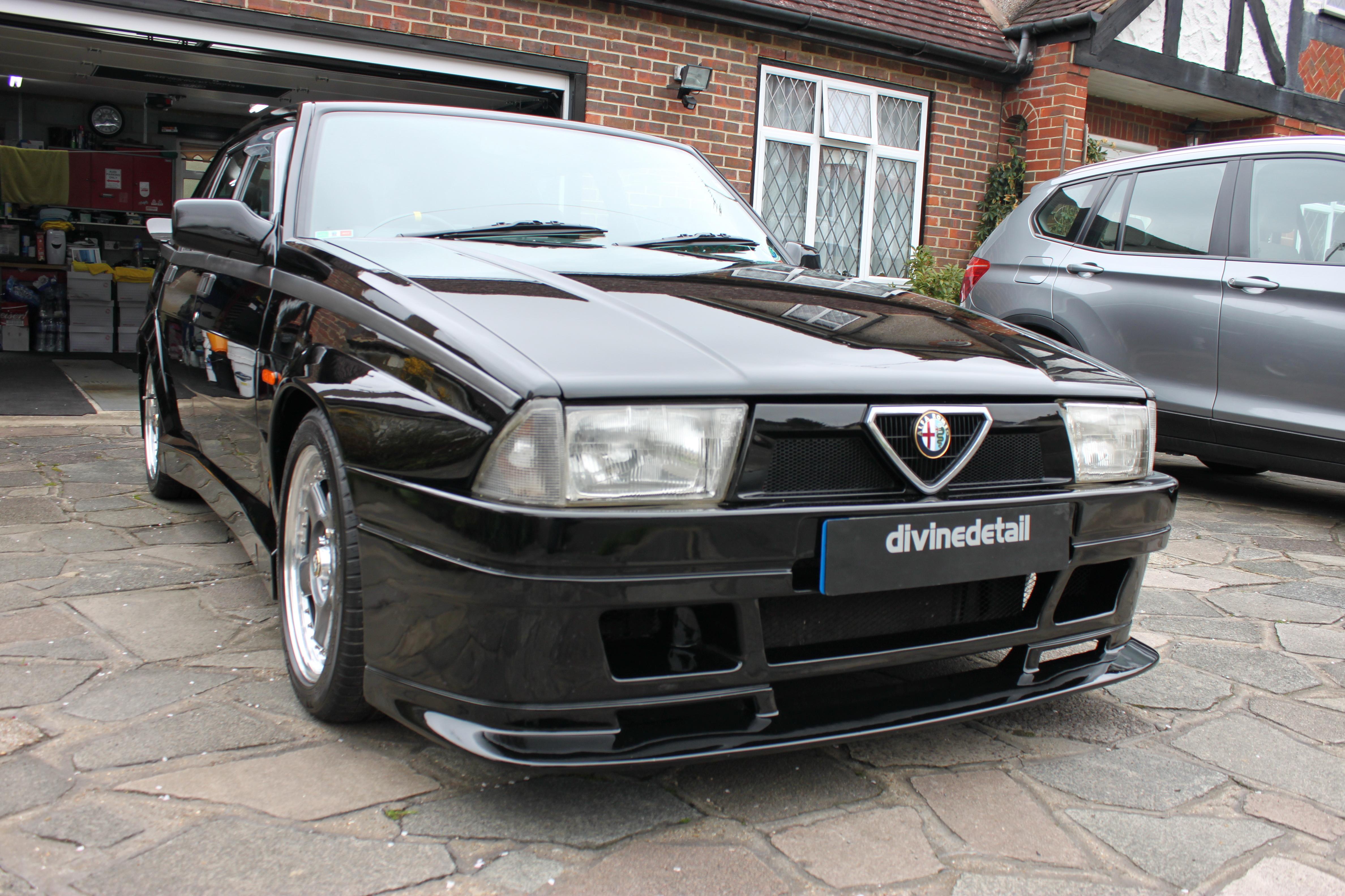 Alfa Romeo 75 detailed